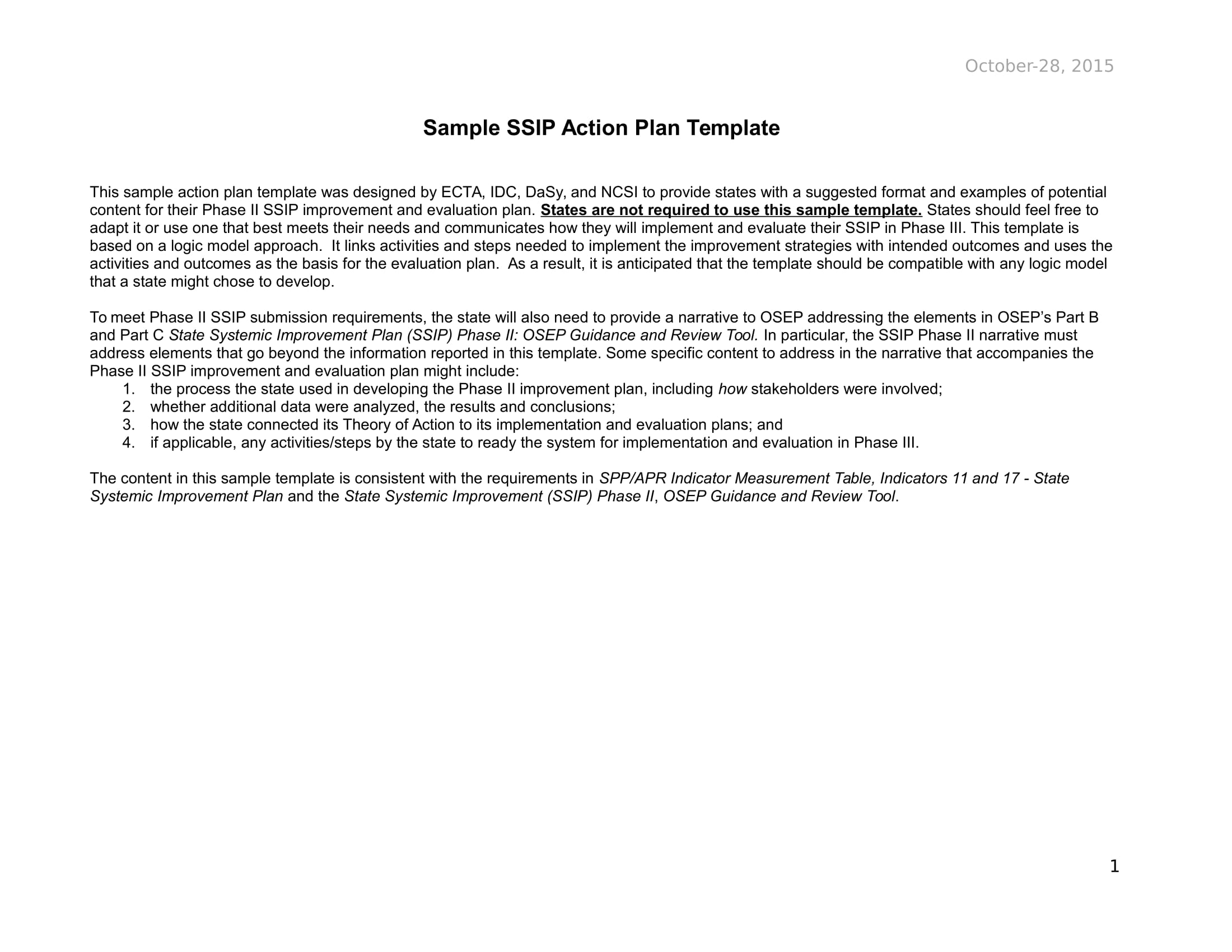 state systemic action plan example 01
