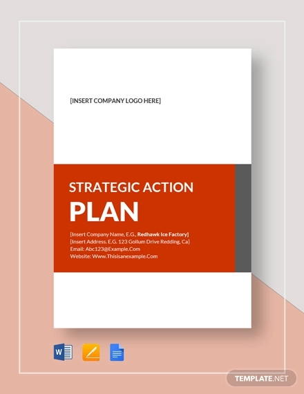 strategic action plan example
