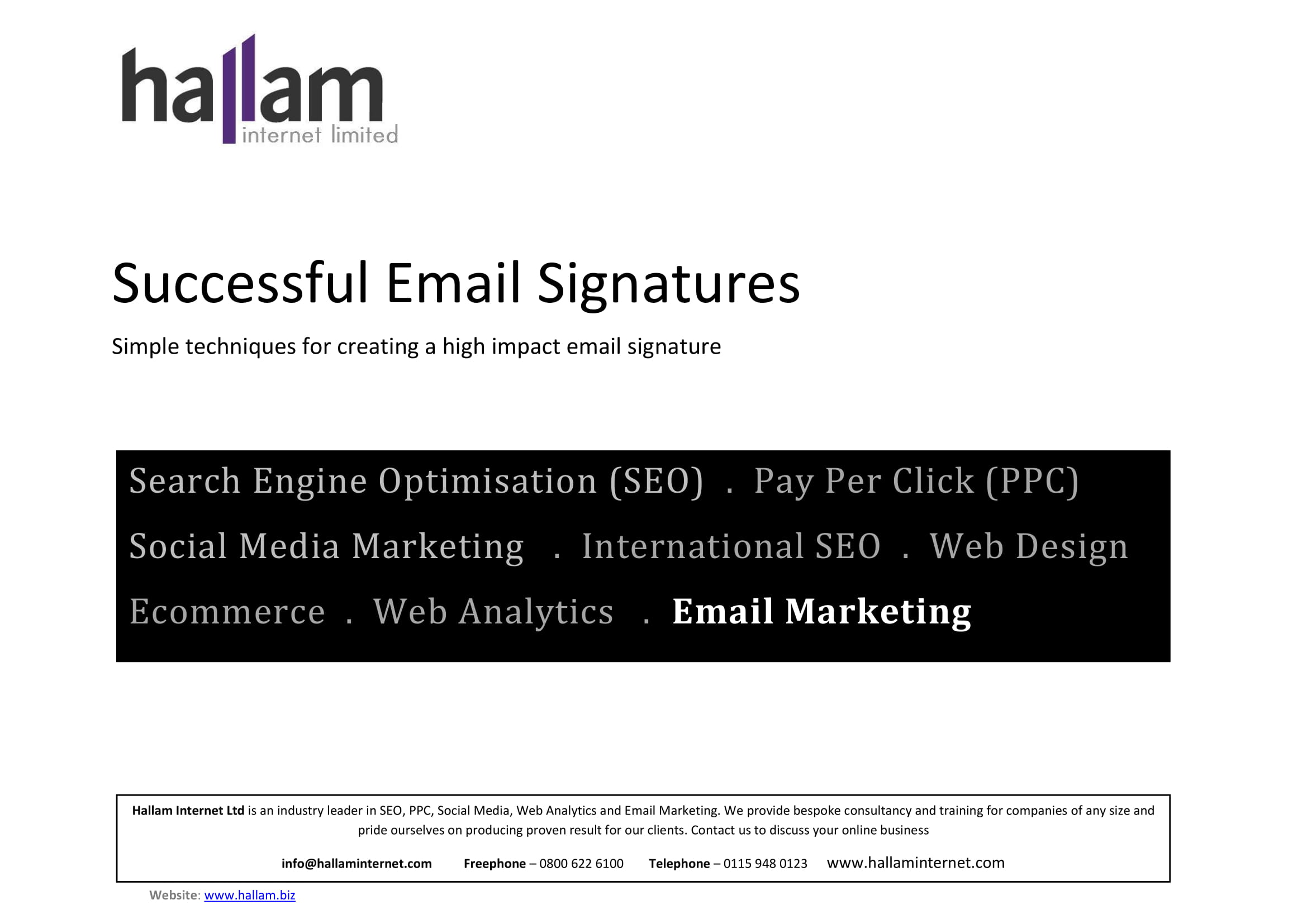 successful email signature example 01