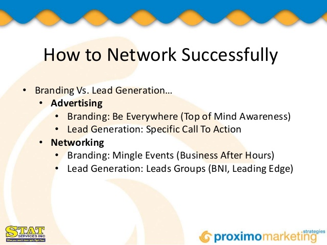 successsful networking tips
