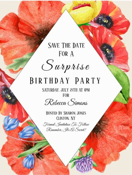 surprise birthday save the date design example e1528867578384
