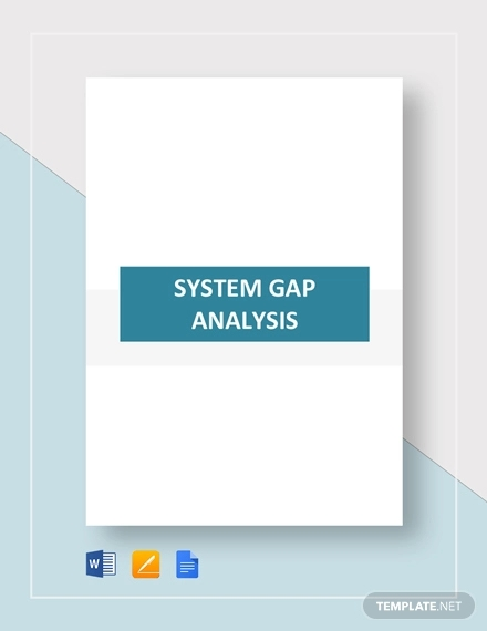 system gap analysis