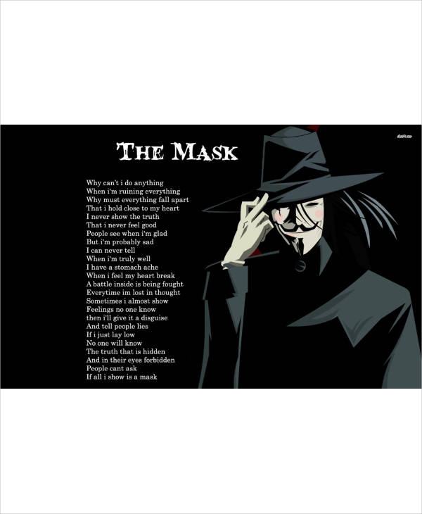the mask anonymous speech