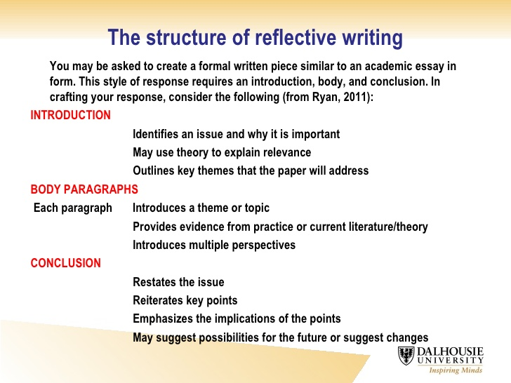 10  reflective writing tips and examples