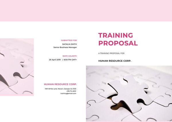 13 Training Proposal Examples Pdf Doc Psd Ai