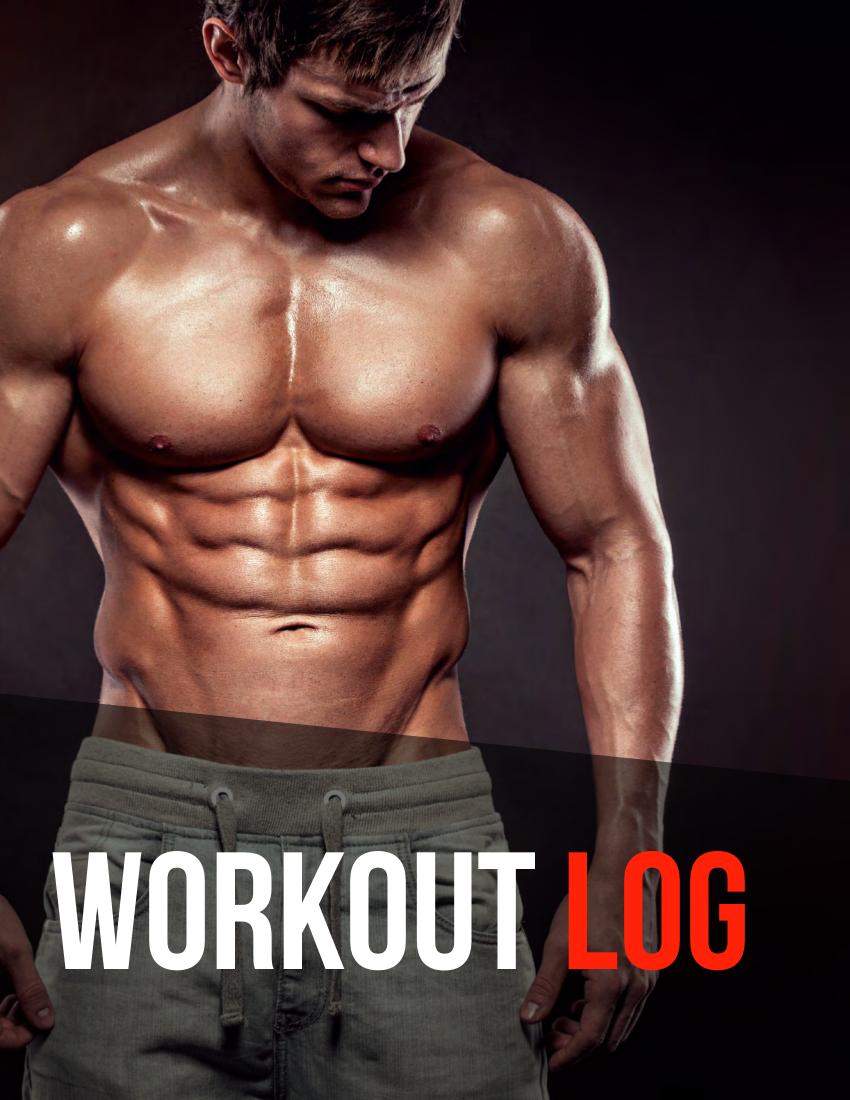 training workout log example