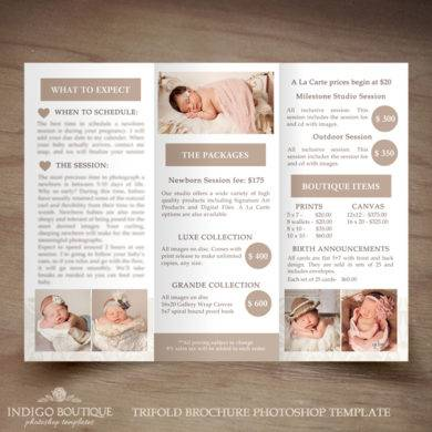 trifold price list template1