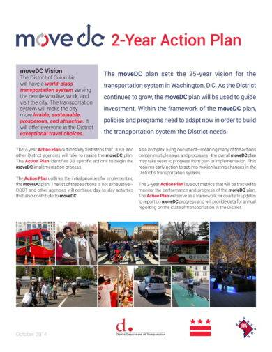 two year action plan example