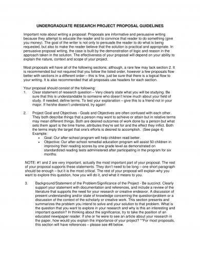 10 Research Project Proposal Examples Pdf Word Pages
