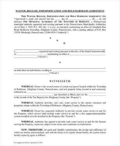 14 Hold Harmless Agreement Examples Pdf Examples