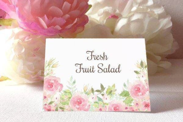 watercolor wedding table card example1