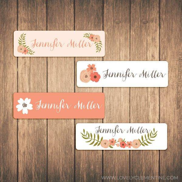 waterproof floral label examples1