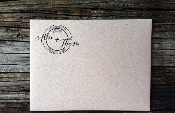 wedding address label example1