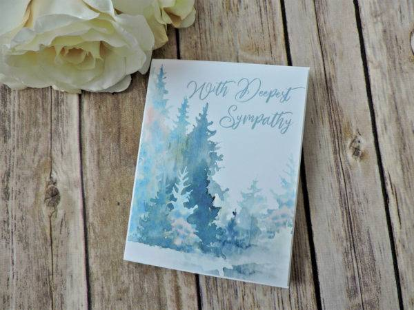 with deepest sympathy greeting card example1