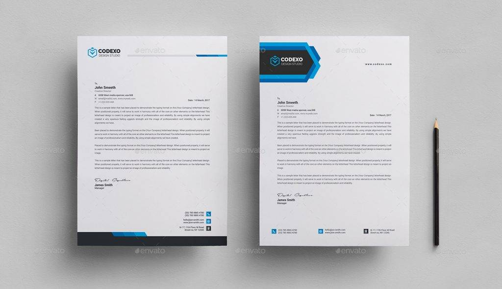 14 formal letterhead designs and examples simple and formal letterhead template example altavistaventures Gallery