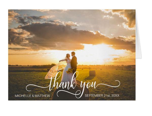wedding note card