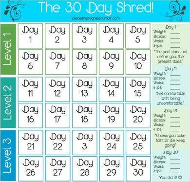 30 day fitness plan calendar example1