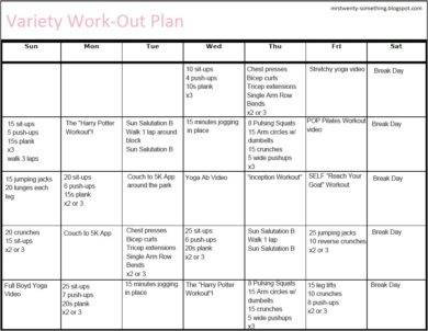 30 day fitness plan template1