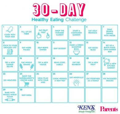 30 day healthy eating challenge1