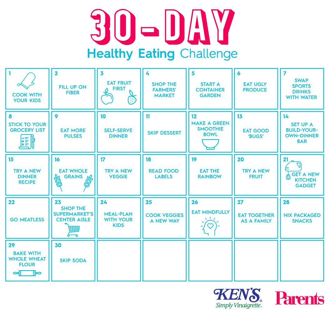 30 day healthy eating meal plan example