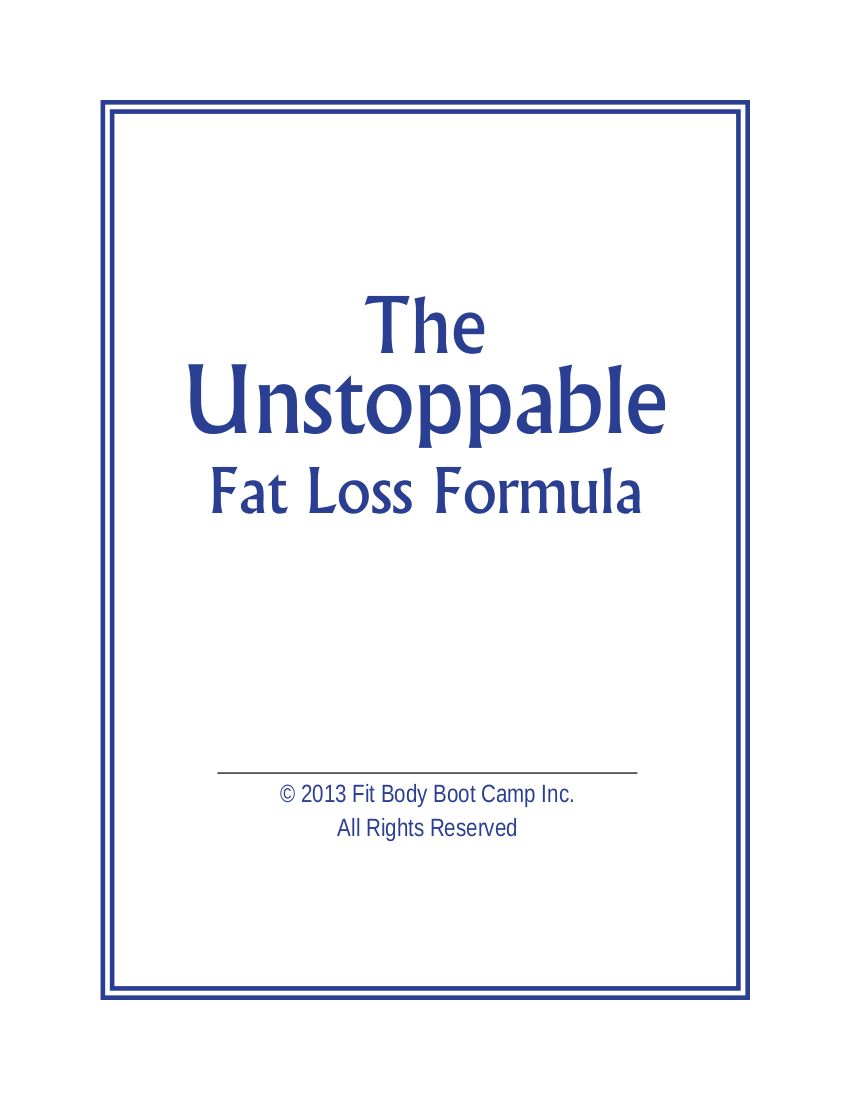 90 day fat and weight loss formula