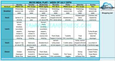 90 day meal plan sample1