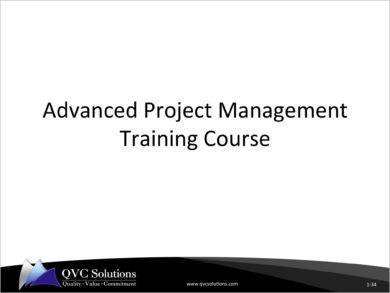 advanced project management scope baseline plan creation example