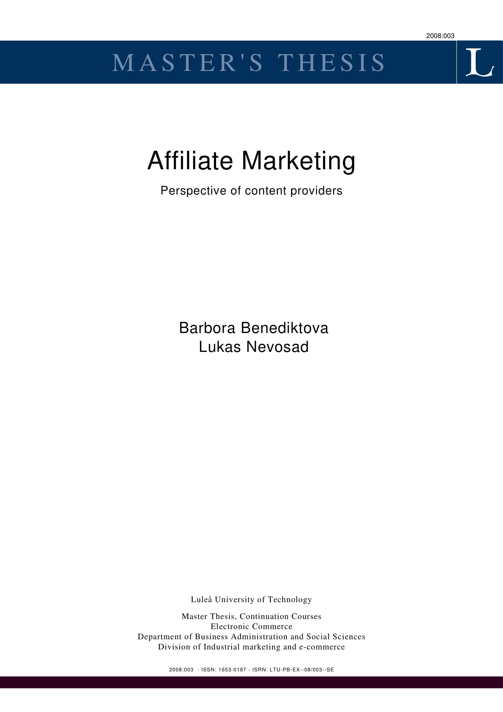 affiliate marketing perspective of content providers for planning example 001
