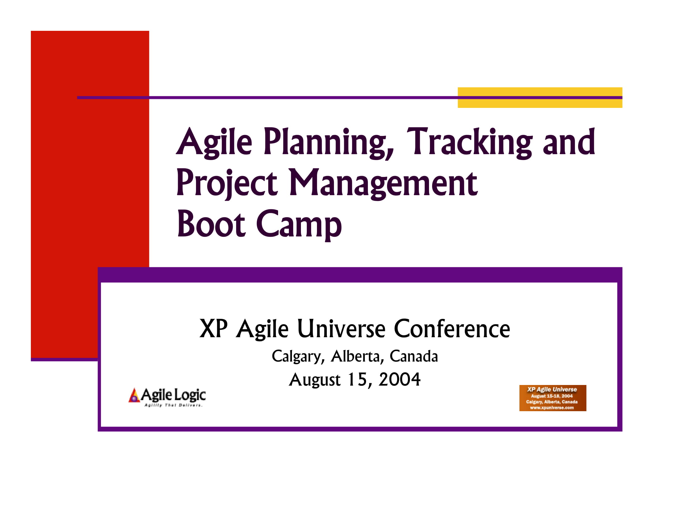agile planning tracking and project management example 001
