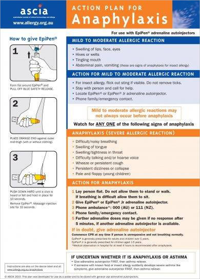 allergy action plan for anaphylaxis example2