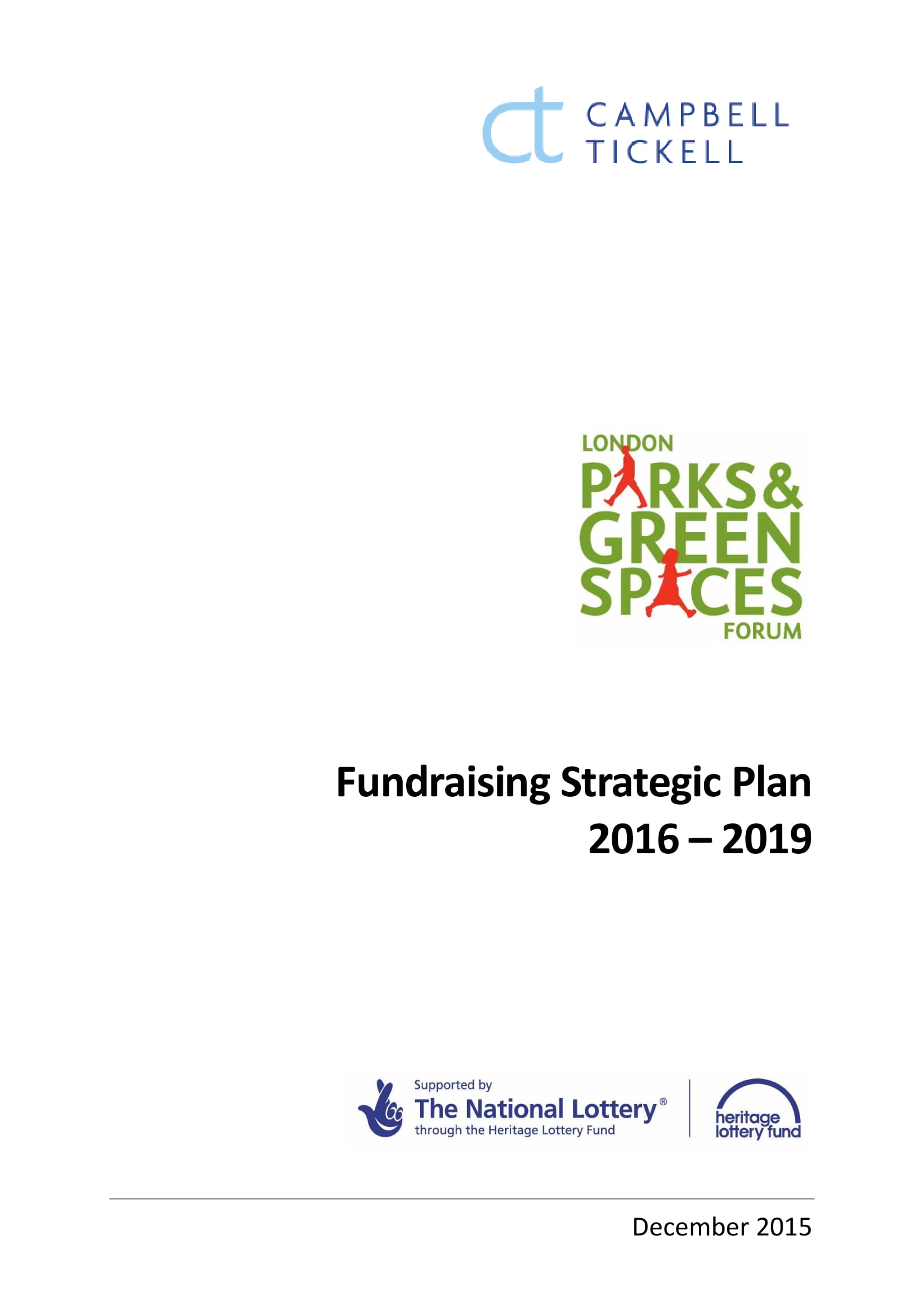 annual fundraising strategic plan example