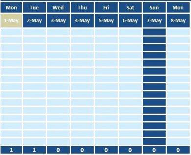 annual leave spreadsheet template1