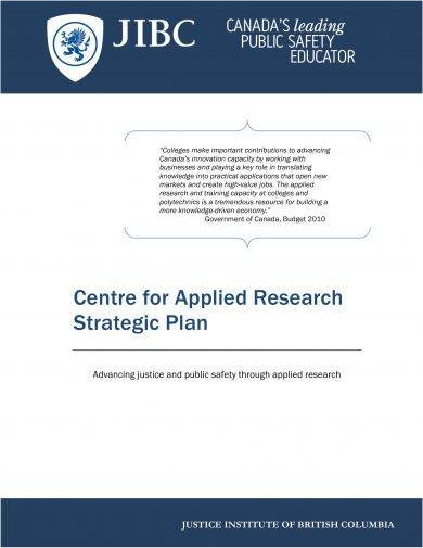applied research strategic plan example1