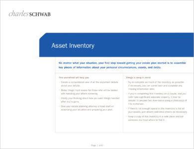 asset inventory worksheet example1