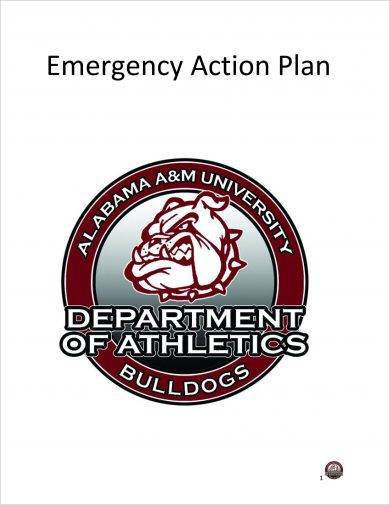 athletics emergency action plan example1