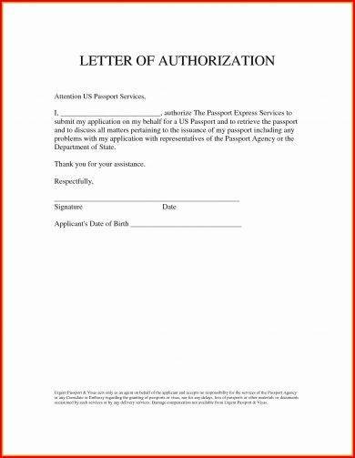 authorization request letter format example 3