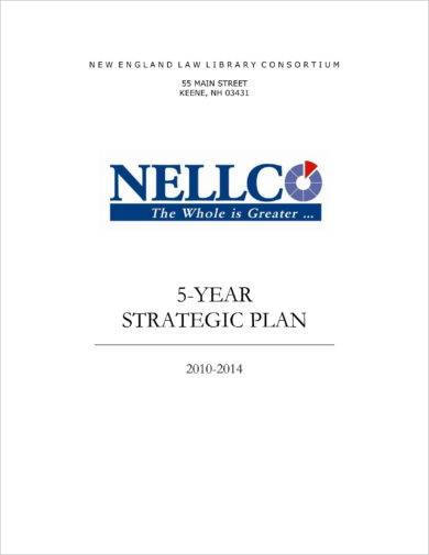 basic five year strategic plan example