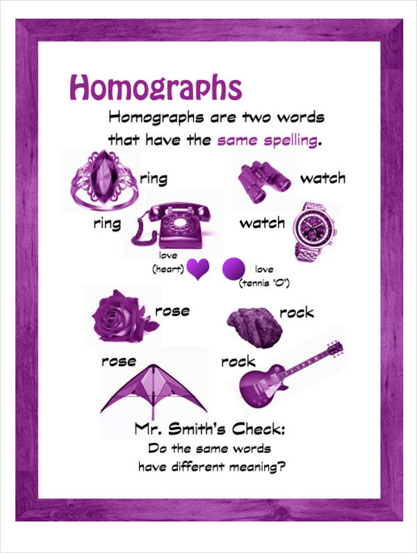 basic homograph example