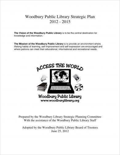basic public library strategic plan example
