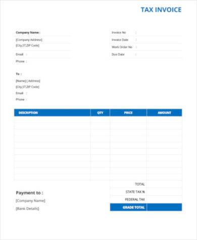 basic tax invoice template1