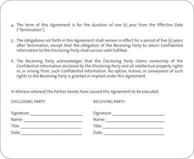 basic teacher confidentiality agreement example1