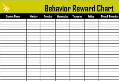 behavior reward chart example1