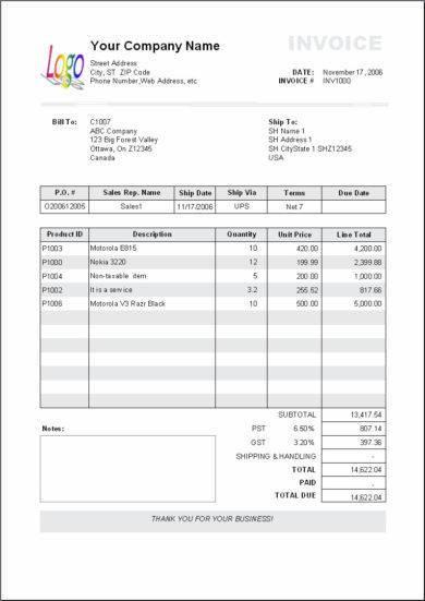 billing invoice template1