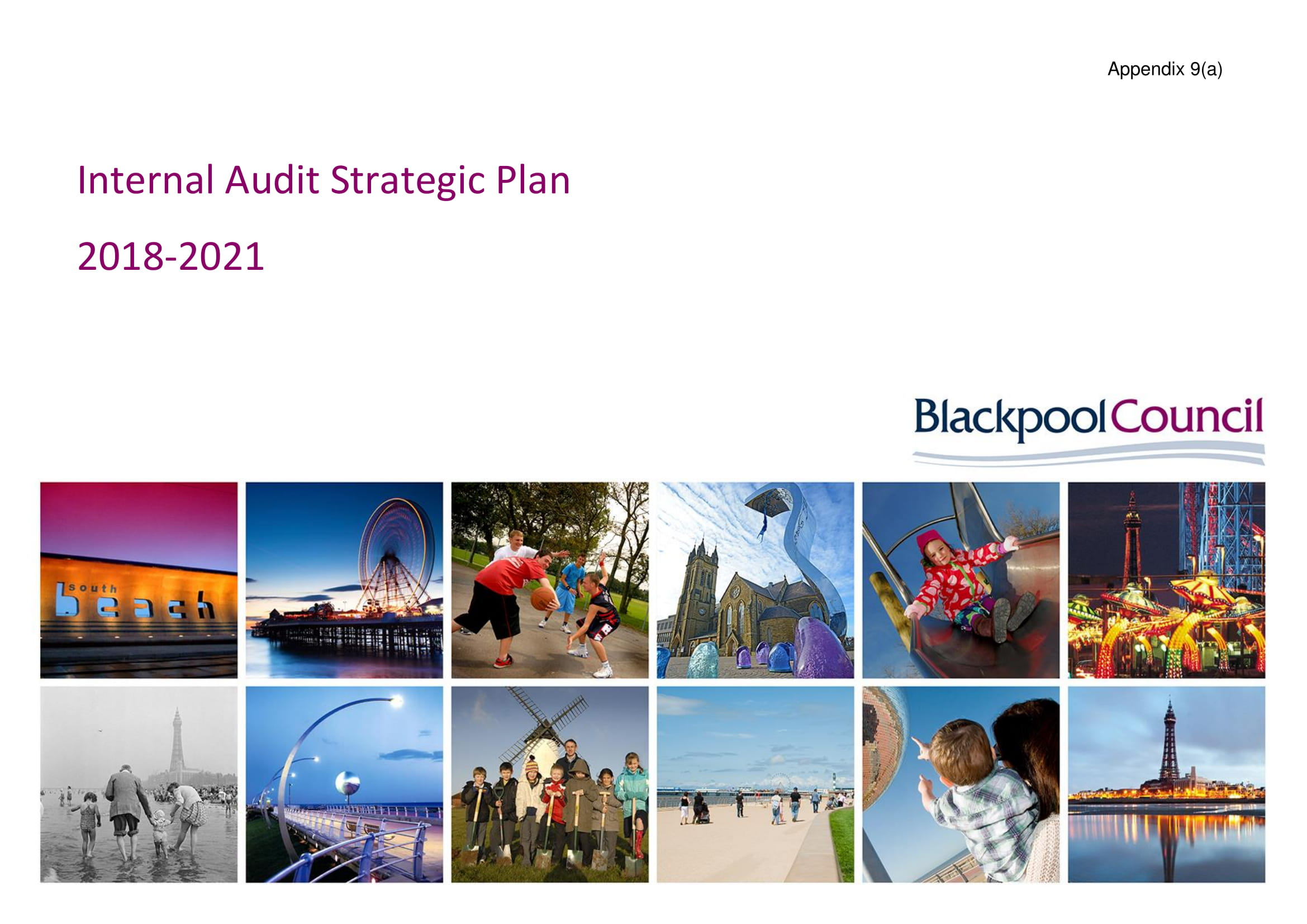 blackpool council internal audit strategic plan example