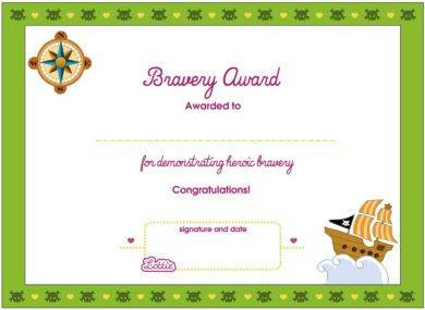 bravery award certificate for heroism example1