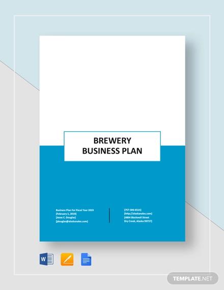brewery plan