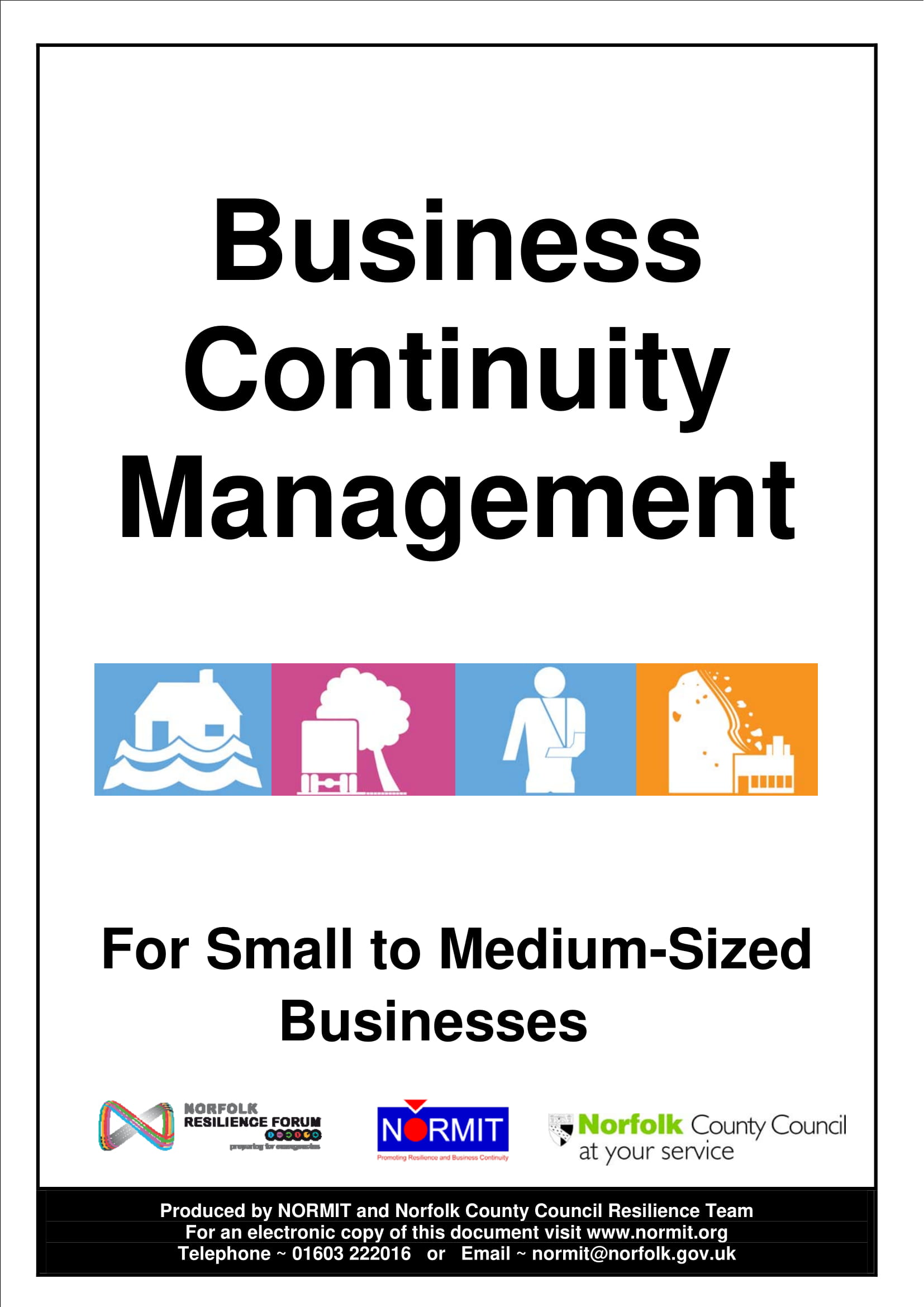business continuity management plan example 01