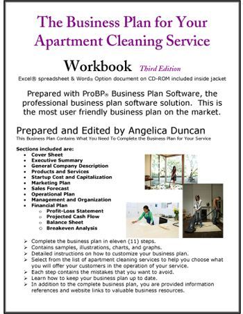 business plan for apartment cleaning service