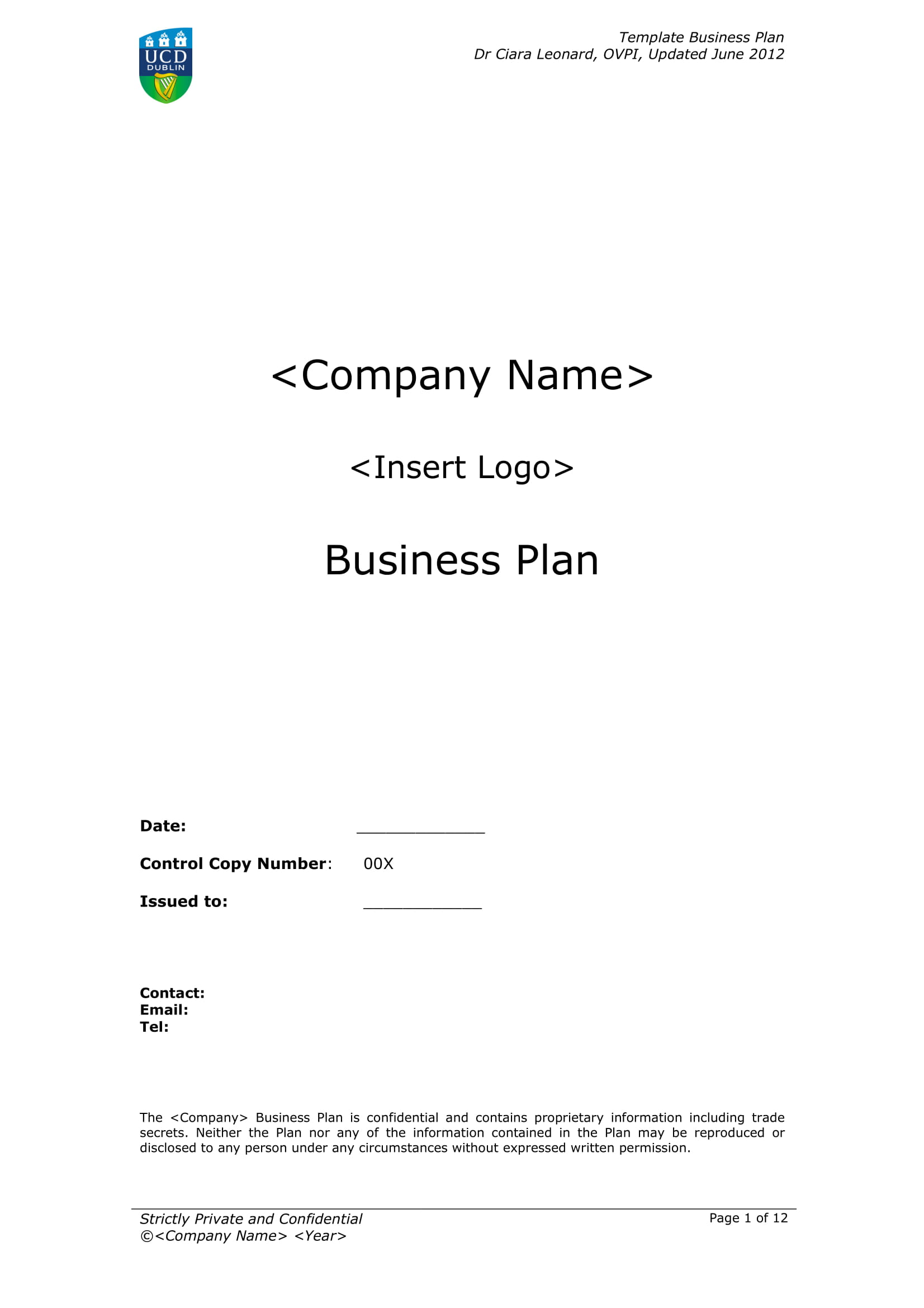 business plan template with marketing analysis example 01