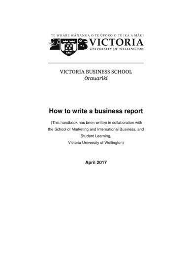 business report writing guidelines1